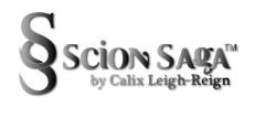 Scion Saga Professional Logo BLACK